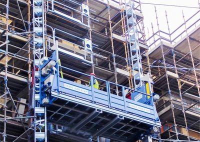 Bauaufzug für Personen und Material GEDA 1500ZZP