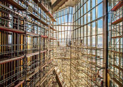 EZB Bauaufzugtechnik im Innern des Gebäudes