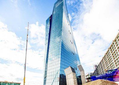 Europäische Zentralbank Frankfurt Aussenansicht