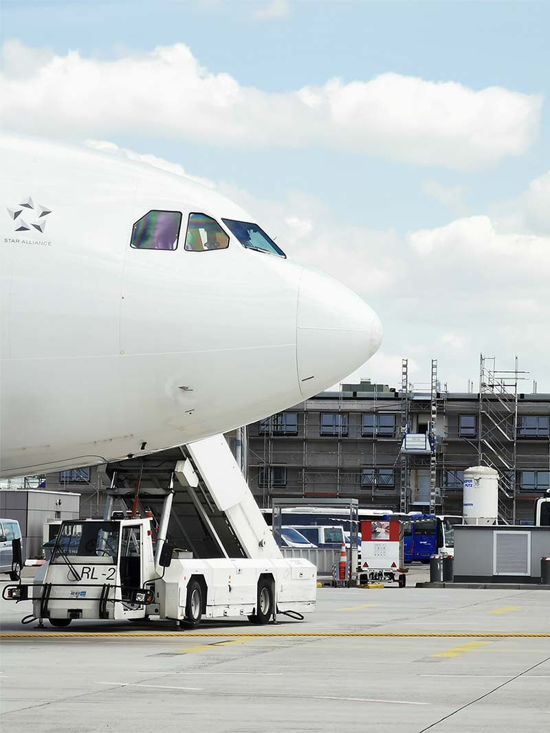 Langzeiteinsatz Flughafen Frankfurt
